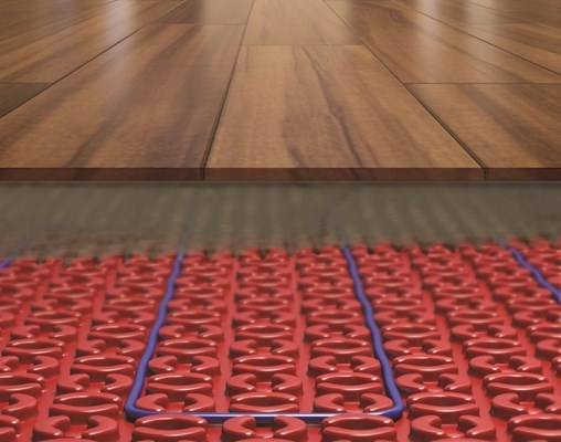 dcmpro electric system under engineered wood flooring