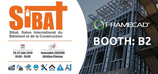 Join FRAMECAD at SIBAT Expo From 20 to 22 of June