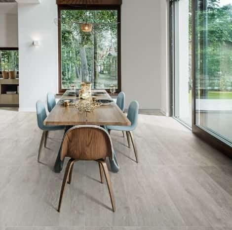 Porta Nuova Grey Wood-look Floor Tile From Arizona Tile