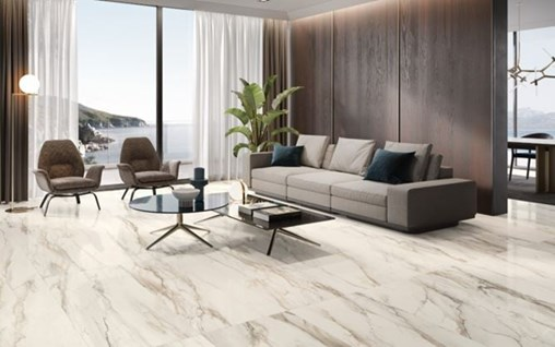 Tru Marmi Gold Porcelain Floor Tile with a Matte Finish Coming Soon from Arizona Tile