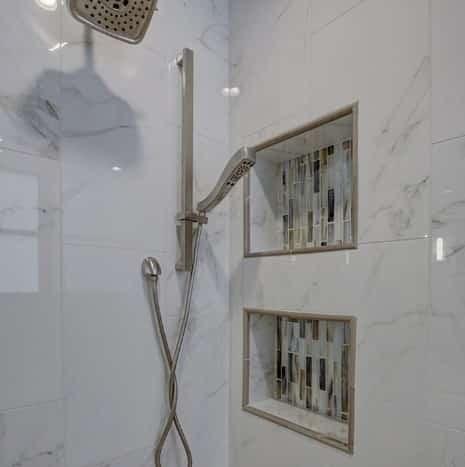 Calcutta Polished Rectified Porcelain Bathroom Tile from Arizona Tile