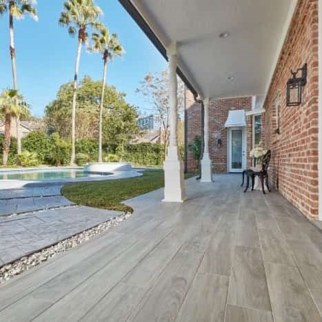 Grigio R11 Anti-slip Finish Indoor & Outdoor Porcelain Grey Wood-look Tile From Arizona Tile