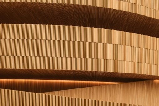 Wood is a modern, high-tech building material