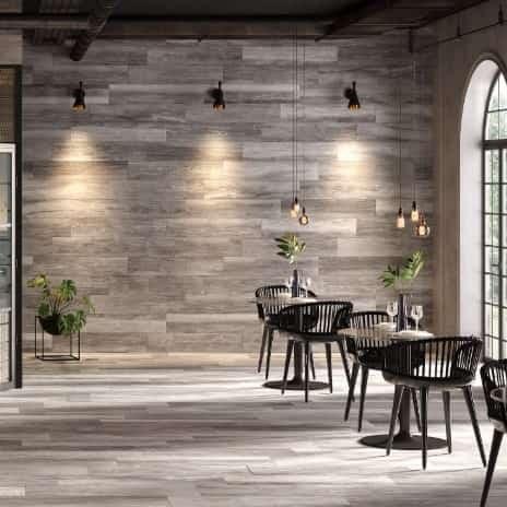 Legno Grey Wood-look Floor Tile From Arizona Tile