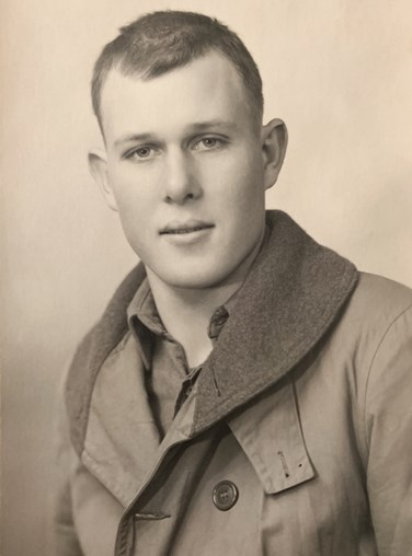 Clarence Sprague Service Photo