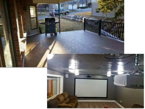 New Lower Level Addition with Roof Deck by Duradek of Utah