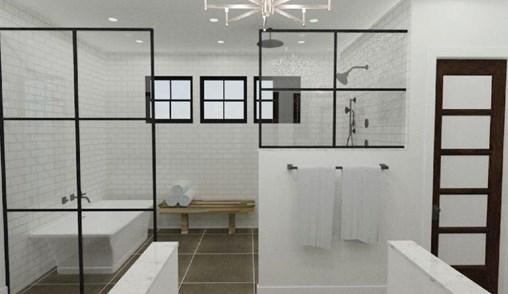 Winning Modern Farmhouse Bathroom Design