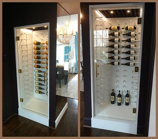 Wall-Mount Wine Racks Deliver Contemporary Charm