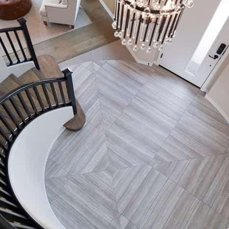 Eramosa Clay Grey Porcelain Floor Tile From Arizona Tile