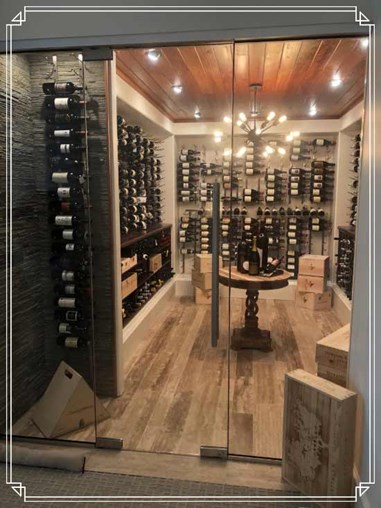 Stylish space savers that can open up your wine cellars!