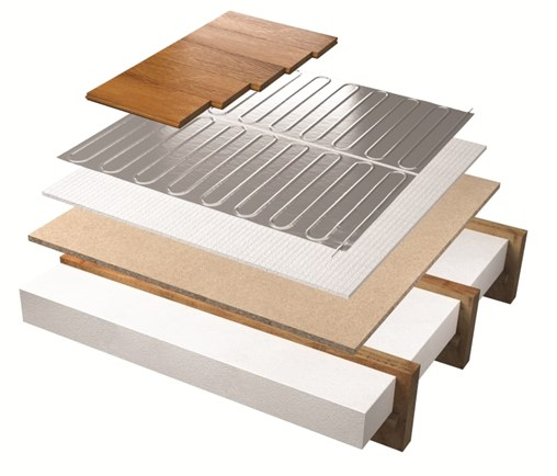 foil heater system wooden floor layers