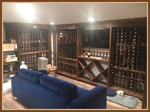 Basement Wine Cellar With WineMaker Wine Racks