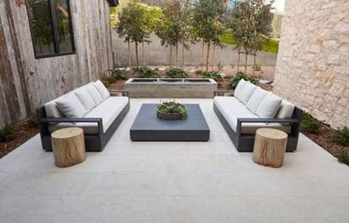 Salem Grey Limestone Tile Patio From Arizona Tile