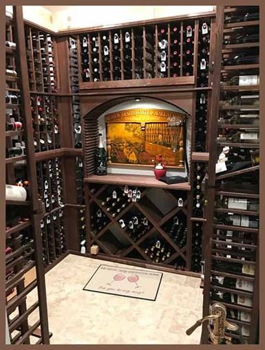 All-Vintner wine cellar