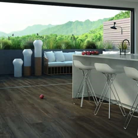 More Wood Noce Wood-Look Outdoor Tile Patio From Arizona Tile
