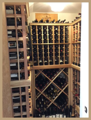 Bedroom Turned Wine Cellar With the Help of WCI Racks
