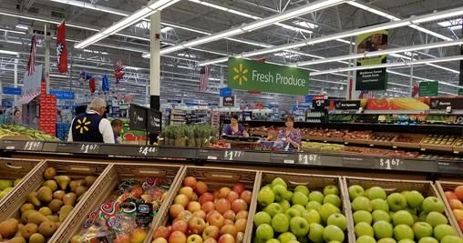 Walmart Eyeing Revamp of Produce Merchandising