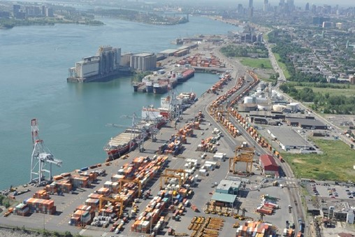 Funding to Aid Montreal Port Truck Flow