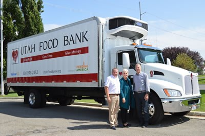 Utah Food Bank Truck Supra Unit