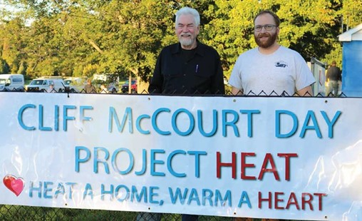 Local HVAC Contractor Competitors Join Forces to Help Elderly Community