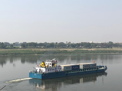 Maersk Fuels India's Inland Waterway Container Push