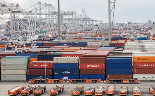 Top European Ports Tracking Record Growth Despite Slowing Asian Trade