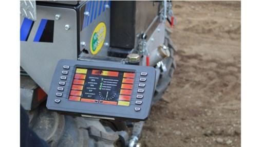 iTerra Controller for Curb and Gutter Machines