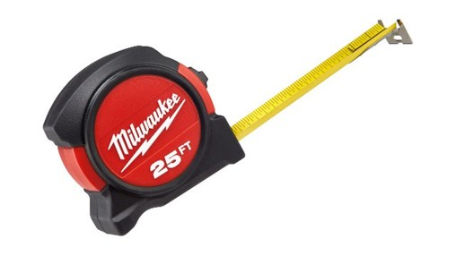 MILWAUKEE® INTRODUCES NEW TAPE MEASURES IDEAL FOR LAYOUT