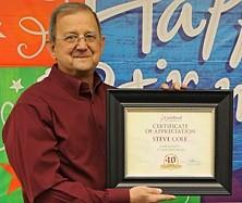 OEM Sales Manager Steve Cole Retires