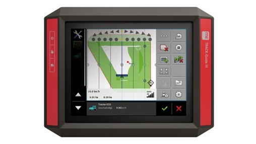 TRACK-Guide III and TOUCH800 ISOBUS Displays