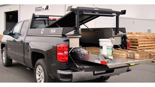 Work Truck Bed Organizer