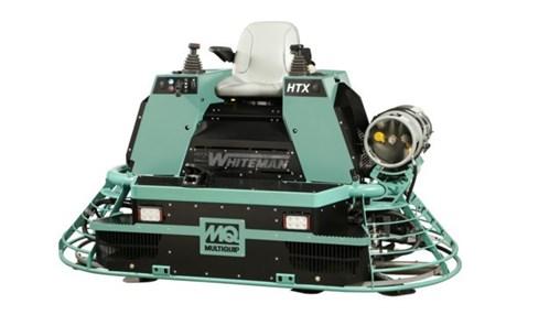MQ Whiteman HTXG6DF Dual Fuel Ride-On Trowel