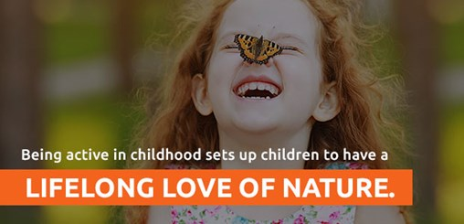Being Active In Childhood Sets Children Up For A Lifelong Love Of Nature