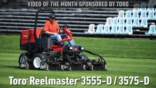 Toro Video of the Month – Sports Fields & Grounds