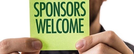 Sponsors Welcome sign