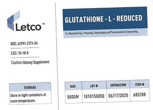 Image of Letco glutathione