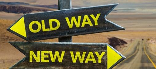 Old Way x New Way Crossroad