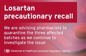 Precautionary Recall - Losartan