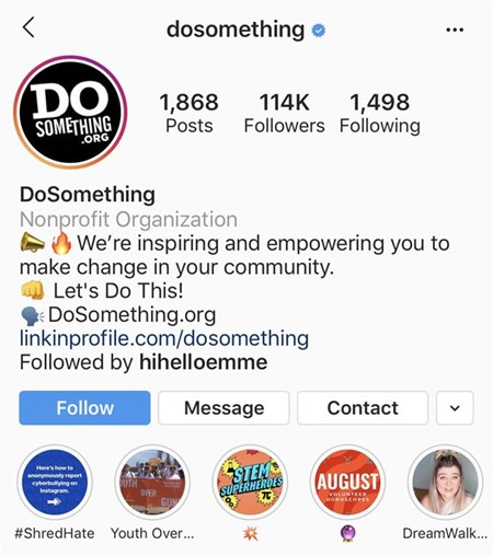 do something instagram highlights