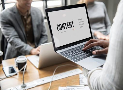 create e-newsletter content