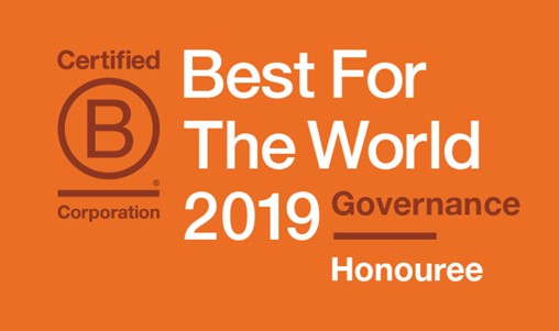 B Corp best for the world honouree Articulate marketing governance