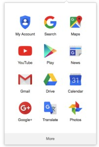 Brand guidelines: Google app icons