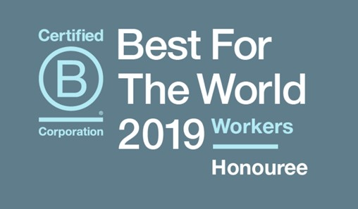 B Corp best for the world honouree Articulate marketing workers