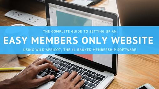 Members Only Website 1