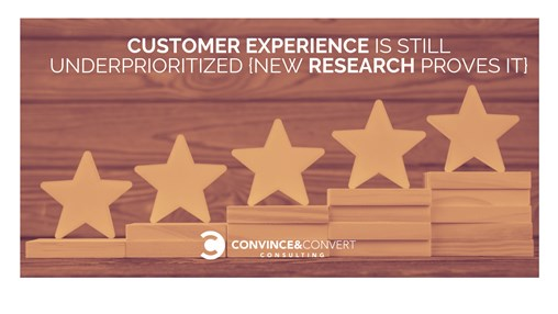 Customer Experience Is STILL Underprioritized {New Research Proves It}