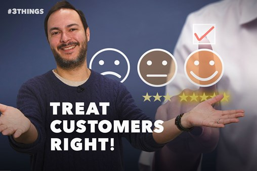3 Customer-Service Tips That Will Ensure Repeat Business (60-Second Video)