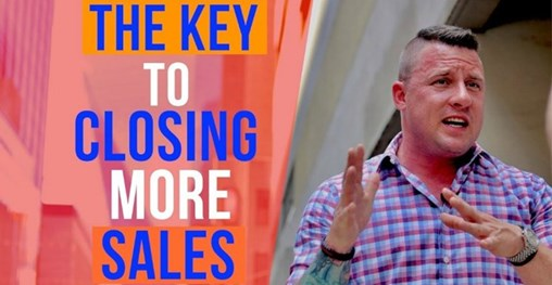 The Key to Closing More Sales [Video]