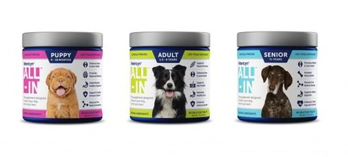 Vetericyn Launches ALL-IN Life-Stage Dog Supplement
