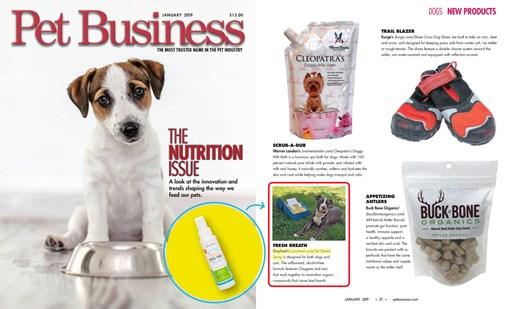 Oxyfresh- Pet Business World Featured Pet Dental Spray