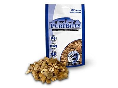 PureBites Freeze Dried Ocean Medley Cat Treats